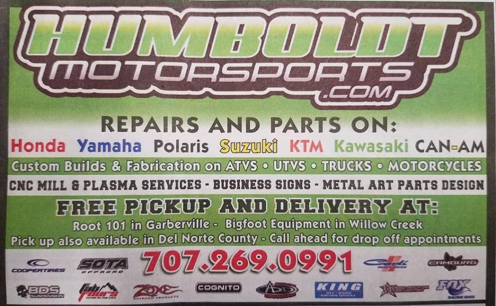 Humboldt Motorsports – poster